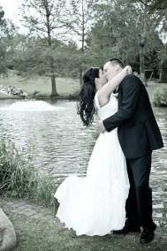 Das glückliche Paar am Hochzeitstag
