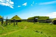 Mitten im Winkinger Dorf auf Island