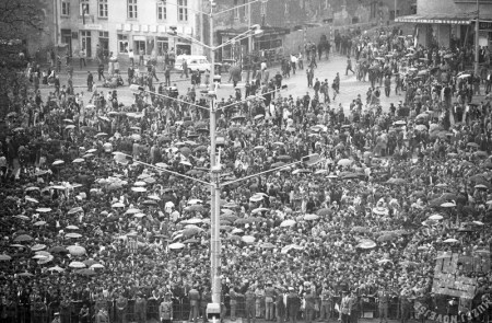 Beograd, 5. maj 1980. Foto: Miško Kranjec