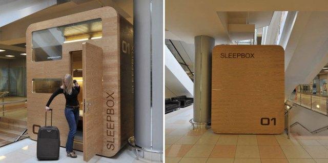 Sleepbox в Шереметьево