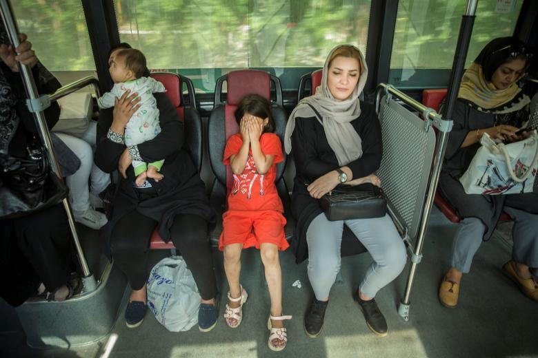 Автобус в Тегеране