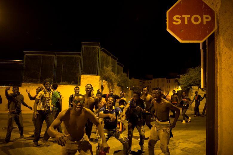 Африканские мигранты