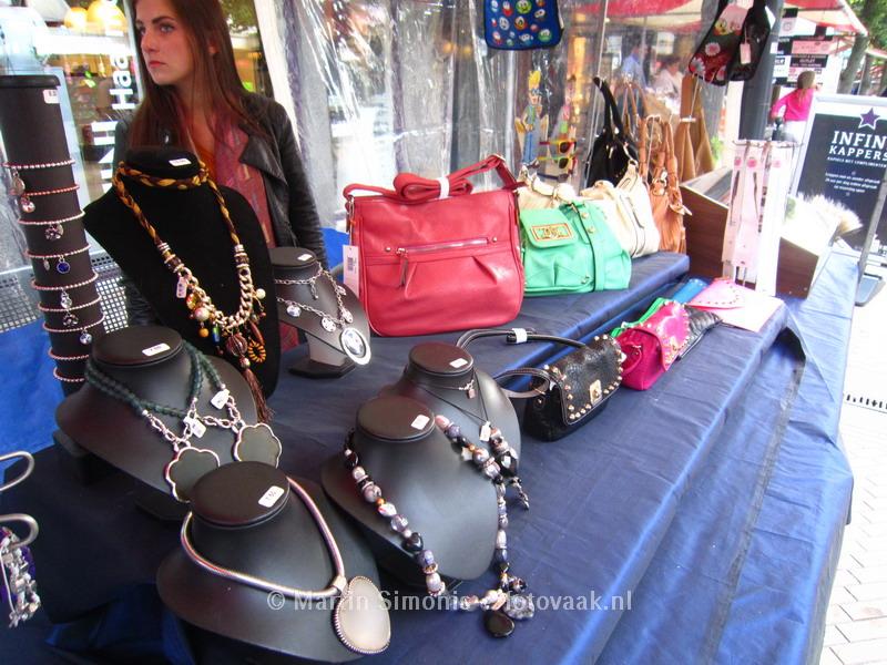 Xsie Juweliers op de Braderie van 's Gravenzande