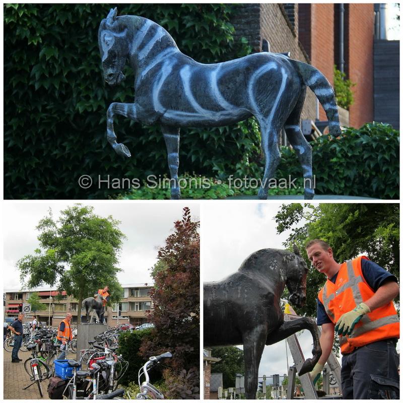 Zebra wordt weer Paard