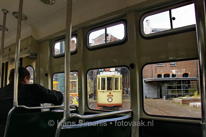 Historische trams op zondag