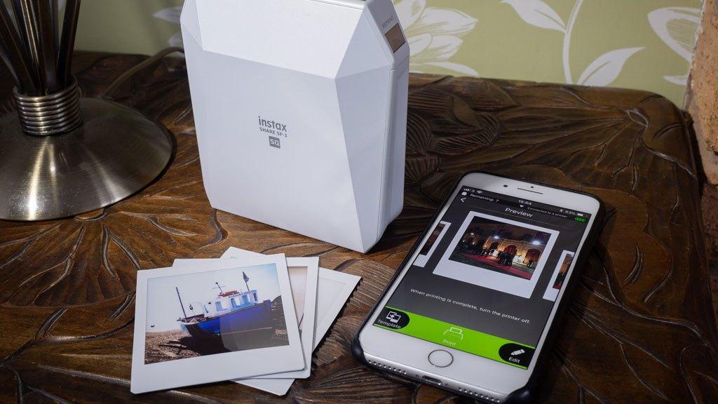 Fujifilm instax SHARE SP-3 printer review