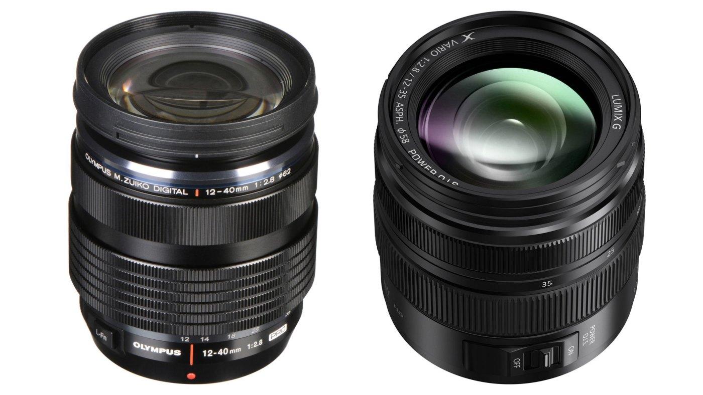 Olympus vs Panasonic lenses