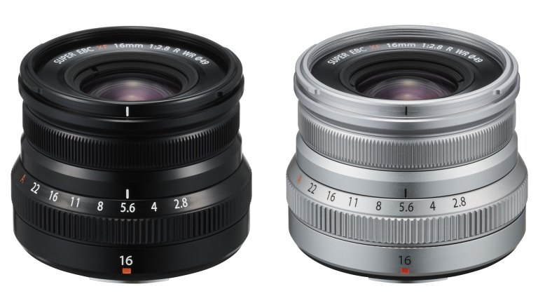 Fujifilm adds FUJINON XF16mmF2.8 R WR to its X-mount prime lens range