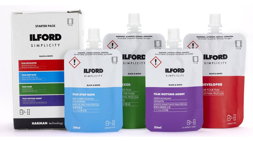 Ilford makes film developing easy with Simplicity Starter Pack