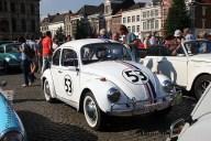 6507 Oldtimers verzameling op de Markt in Oudenaarde