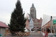 kerstboom op de Grote Markt in Oudenaarde