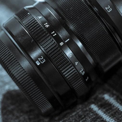 Is the aperture 8 or 1/3'rd below?