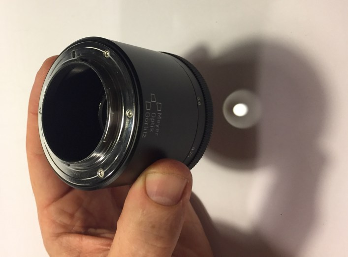 Solid XF-mount and 4 cm of air inside the tube