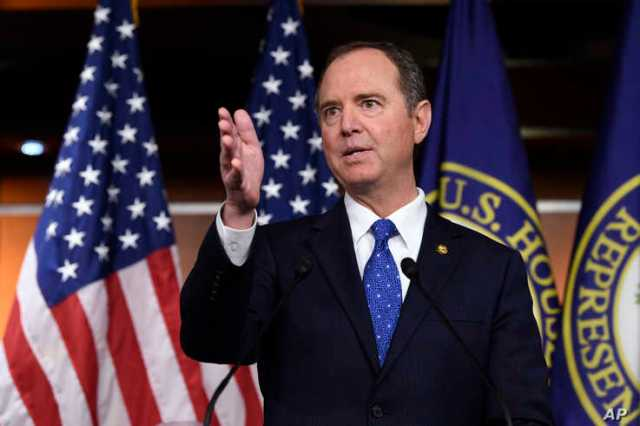 House Intelligence Committee Chairman Adam Schiff, D-Calif., speaks during a news conference on Capitol Hill in Washington, Dec. 3, 2019.