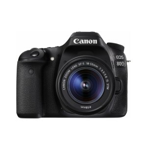 Canon EOS 80D + 18-55 mm IS STM Kit