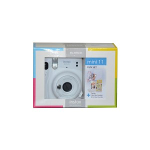 Instax Mini 11 Ice White FUN SET