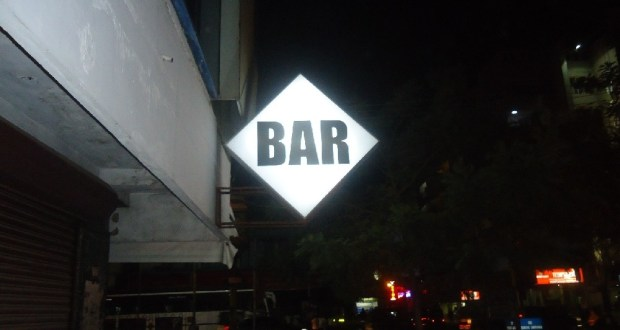 BAR diamond sign in Kerala