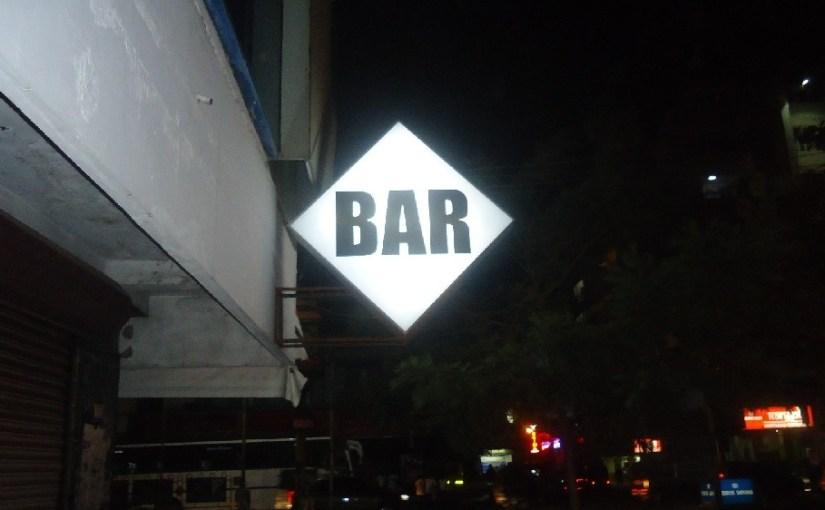 BAR diamond sign in Kerala