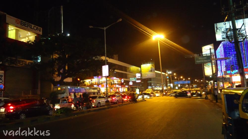 Bangalore Sony World Junction Koramangala at night