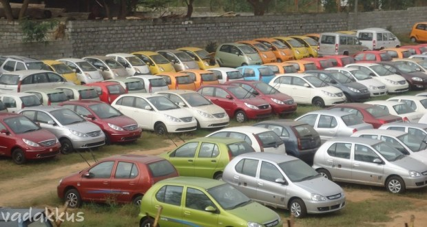 Tata Cars Waiting for Delivery
