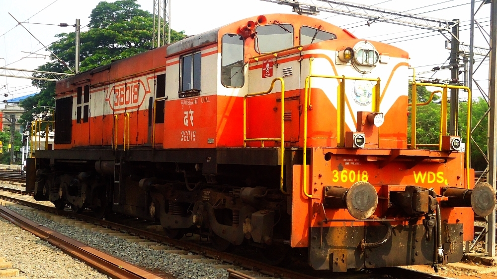 WDS6 shunter of Ernakulam shed at Kottayam