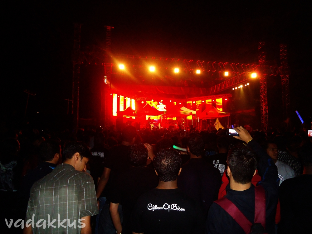 Children of Bodom Live in Bangalore in the rain
