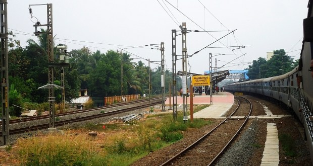 Picture of Chengannur Railway Station Kerala