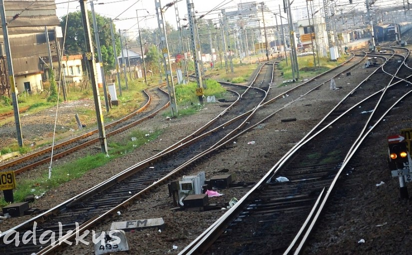 Railway Tracks Converge and Diverge in the Wild…