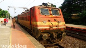Dirty ED WAP4 #22255 Arrives with the TVC Mail
