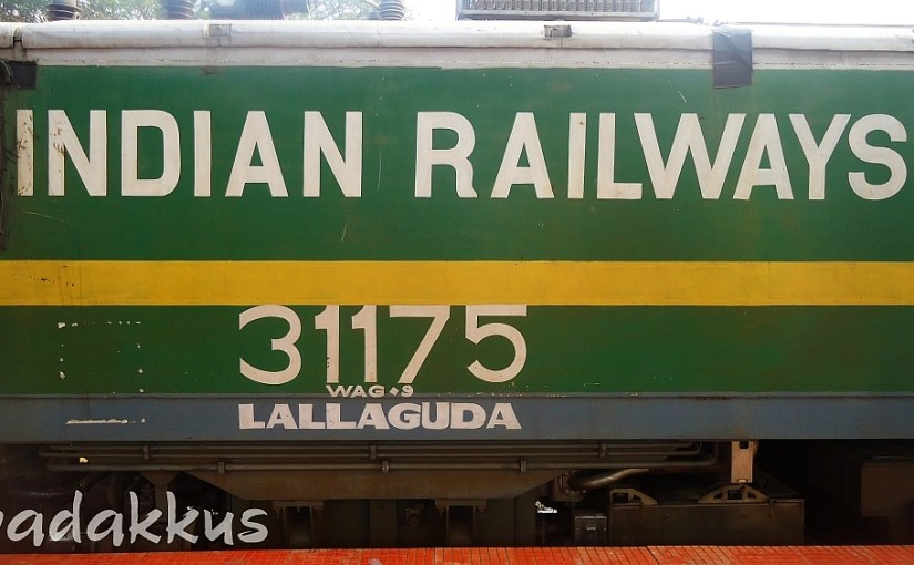 Indian Railways in Bold on a WAG9
