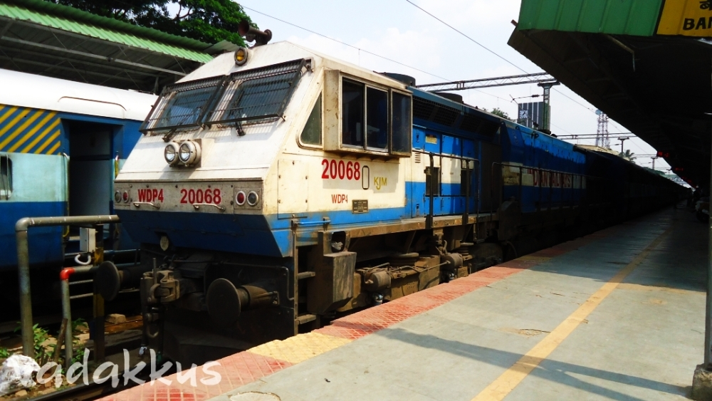 Indian Railways Diesel Locomotive WDP4 EMD