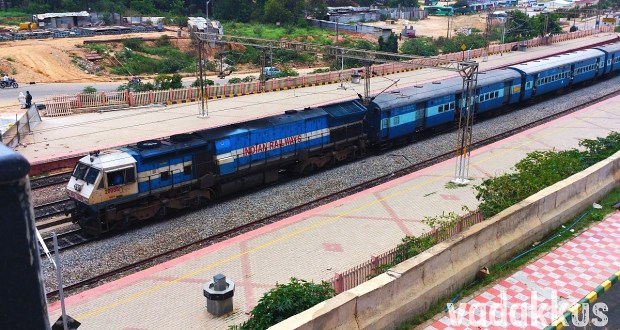 Prasanthi Express train full view photo