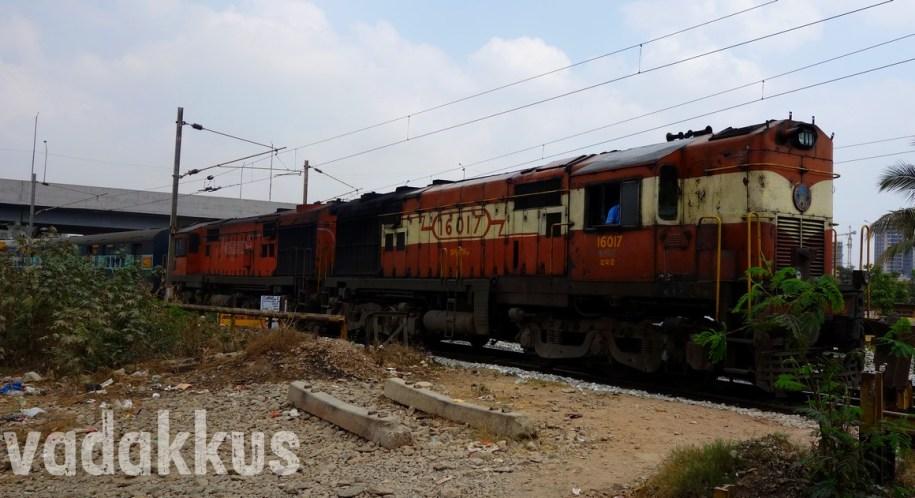 The Legendary Karnataka Express with the MLY ALCO Twins!