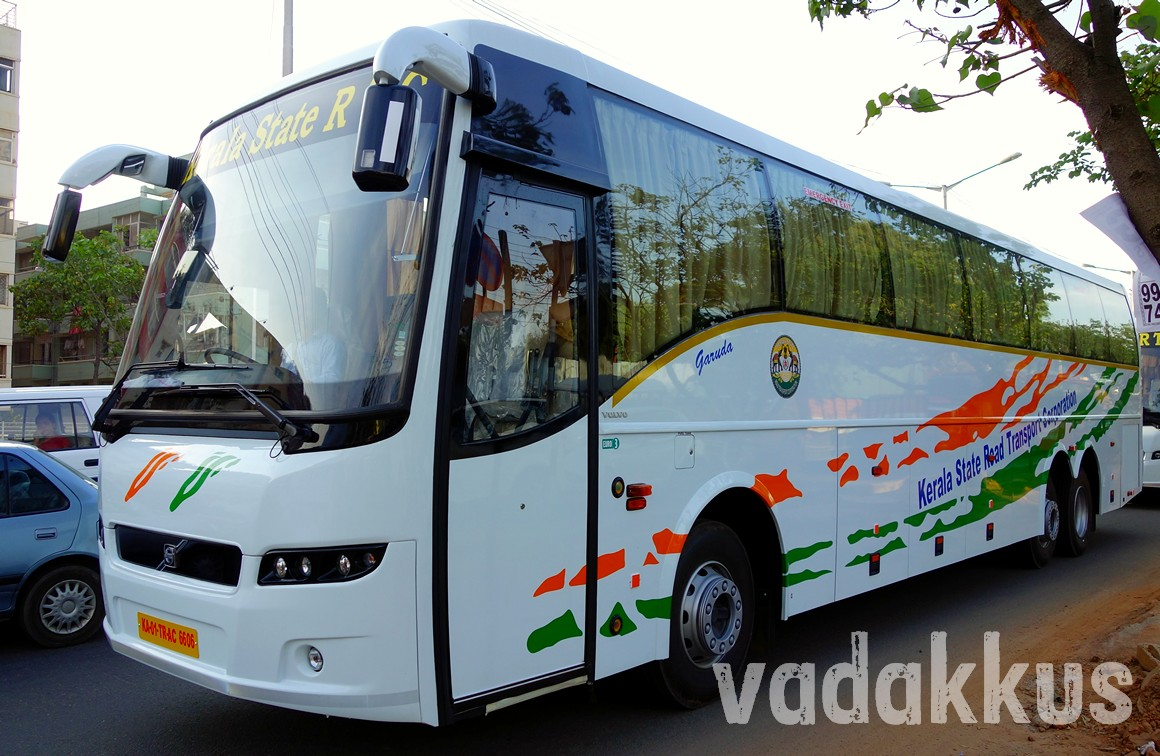 Kerala KSRTC new Volvo B9R multi Axle Photo