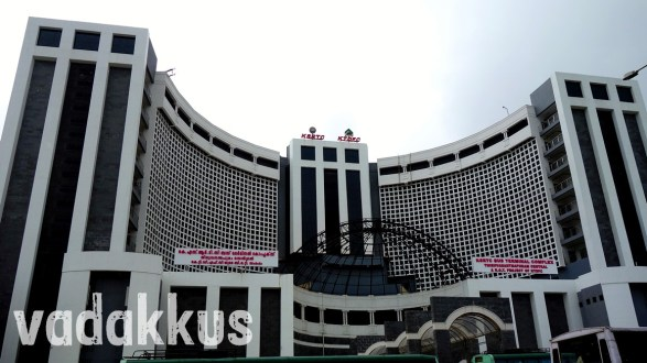 The New Trivandrum Thampanoor KSRTC Central Bus Terminal
