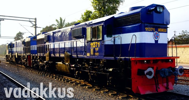 Gooty WDM3A class locomotives diesel engines of Indian Railways