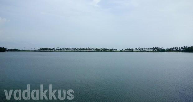 Backwaters in Kerala.