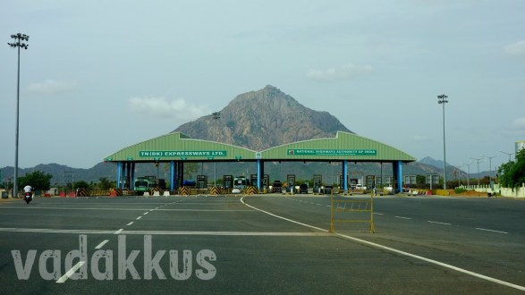 A Hill, A Toll Plaza and a Glorious Tamil Nadu Highway