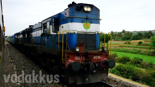 The ALCo Diesel Double Headed Ernakulam Intercity Express!
