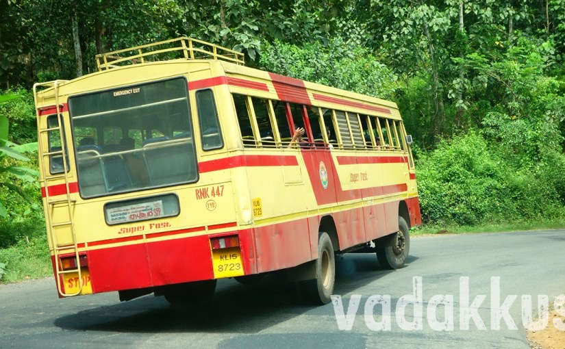 A KSRTC Superfast on a Rollercoaster Ride!