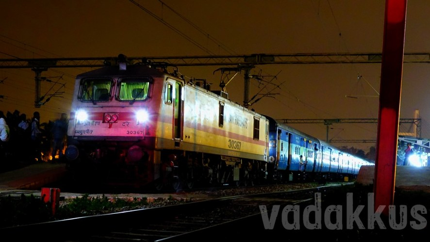 The Mighty WAP7 and the Colors of the Night!