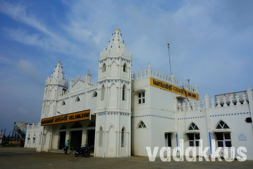 "The ""Grand"" Velankanni Railway Station"