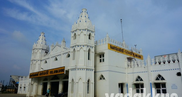 The new railway station at Velankanni