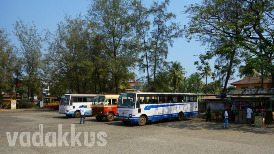 The Cute Little Chalakudy KSRTC Bus Station