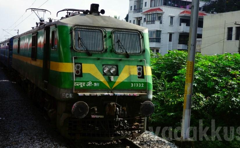 India's Most Powerful Locomotive Hauls a Passenger Train