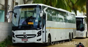 New Mercedes Benz multi-axle bus model