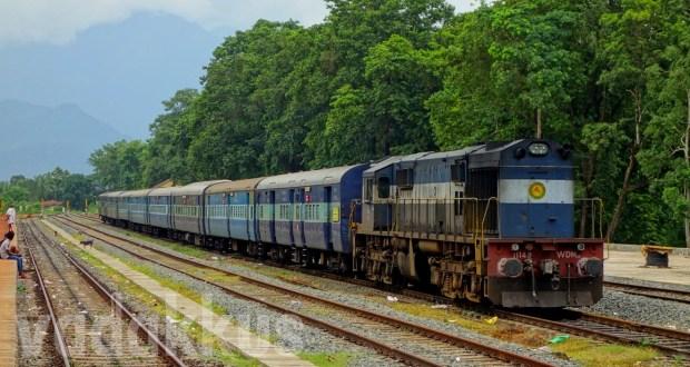 The Beautiful Nilambur Road railway station in Kerala