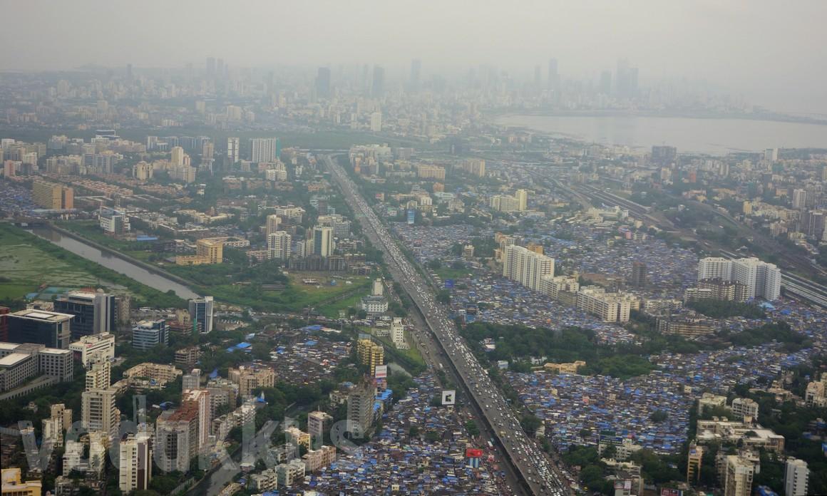 Photo of Mumbai from the air