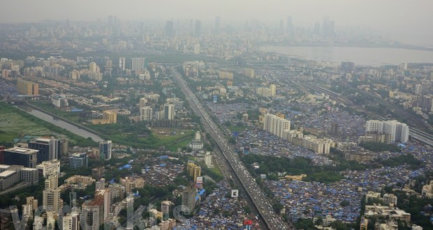 Photo of Mumbai from the air