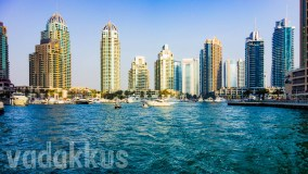 The Dubai Marina at its Northern End